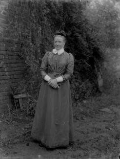 Miss Claypole, by Sir Emery Walker - NPG x29694