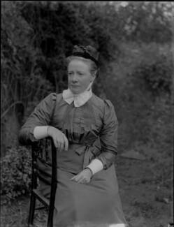 Miss Claypole, by Sir Emery Walker - NPG x29695