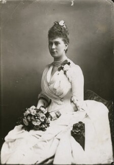 Queen Mary, by W. & D. Downey - NPG x29781