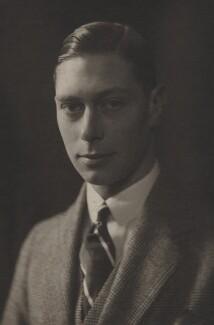 King George VI, by Olive Edis - NPG x29782