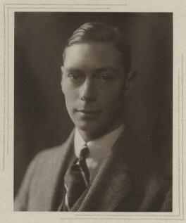 King George VI, by Olive Edis - NPG x29784