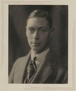 King George VI, by Olive Edis - NPG x29785