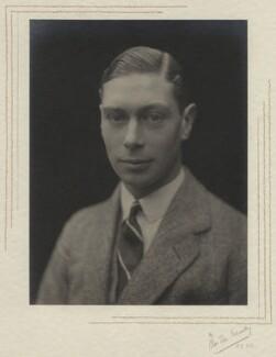 King George VI, by Olive Edis - NPG x29787