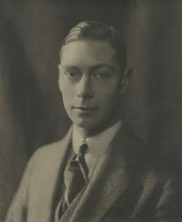 King George VI, by Olive Edis - NPG x29789