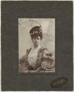 Marie Tempest, by Lallie Charles (née Charlotte Elizabeth Martin), 1908-1913 - NPG x29893 - © National Portrait Gallery, London