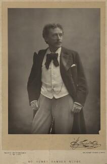 Henry Van der Weyde, by Walery, published November 1891 - NPG x29911 - © National Portrait Gallery, London