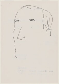 Tony Benn, by Humphrey Ocean (Humphrey Anthony Erdeswick Butler-Bowdon), 1996 - NPG D10633 - © National Portrait Gallery, London