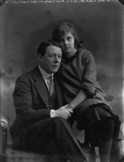 Betty Hicks; Sir (Edward) Seymour Hicks, by Bassano Ltd - NPG x30224