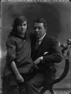 Betty Hicks; Sir (Edward) Seymour Hicks, by Bassano Ltd - NPG x30225
