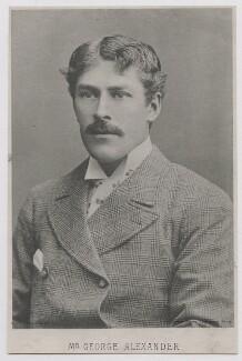 Sir George Alexander (George Samson), by Direct Photo Engraving Co Ltd, after  Herbert Rose Barraud,  - NPG x303 - © National Portrait Gallery, London