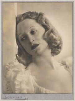 Binnie Hale, by Dorothy Wilding - NPG x30463