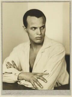 Harry Belafonte, by Dorothy Wilding, 25 February 1954 - NPG x30477 - © National Portrait Gallery, London