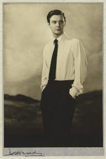 Louis Jourdan, by Dorothy Wilding - NPG x30488