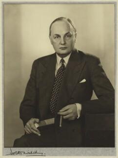 (Hubert Miles) Gladwyn Jebb, 1st Baron Gladwyn, by Dorothy Wilding - NPG x30499