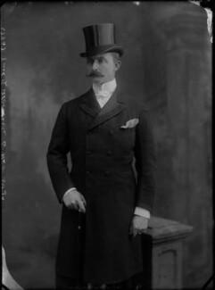 Arnold Allan Keppel, 8th Earl of Albemarle, by Alexander Bassano, circa 1897 - NPG x30538 - © National Portrait Gallery, London