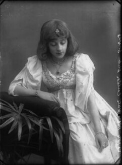 Kate Cutler (Mrs Sydney Ellison), by Alexander Bassano - NPG x30545
