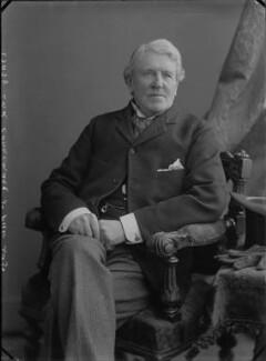 Robert Bourke, 1st Baron Connemara, by Alexander Bassano - NPG x30625