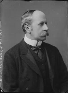 Sir Frederick Ripley, 1st Bt, by Alexander Bassano - NPG x30696