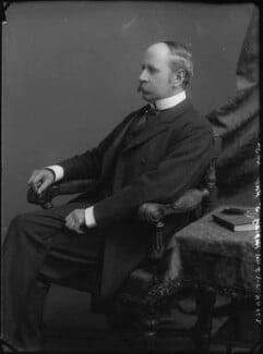 Sir Frederick Ripley, 1st Bt, by Alexander Bassano - NPG x30698