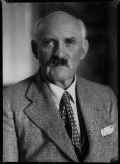 Sir Geoffroy William Millais, 4th Bt, by Bassano Ltd - NPG x30712