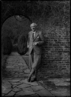 Sir Geoffroy William Millais, 4th Bt, by Bassano Ltd - NPG x30713