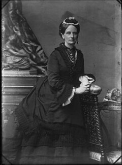 Louisa Jane (née Russell), Duchess of Abercorn, by Vandyk, 1880s - NPG x30750 - © National Portrait Gallery, London