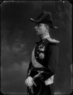 Alexander Albert Mountbatten, 1st Marquess of Carisbrooke, by Bassano Ltd - NPG x30824