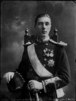 Alexander Albert Mountbatten, 1st Marquess of Carisbrooke, by Bassano Ltd - NPG x30827