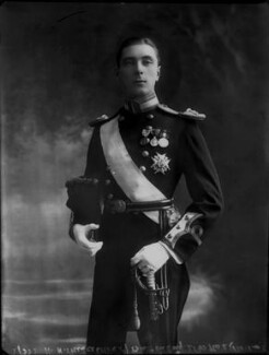 Alexander Albert Mountbatten, 1st Marquess of Carisbrooke, by Bassano Ltd - NPG x30828