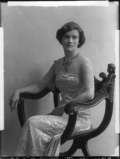 Lady Cynthia Mary Evelyn Asquith (née Charteris), by Bassano Ltd, 26 April 1912 - NPG x30857 - © National Portrait Gallery, London