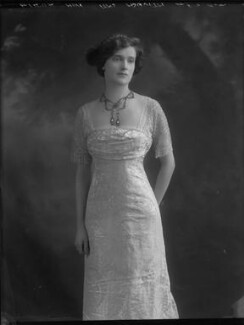 Lady Cynthia Mary Evelyn Asquith (née Charteris), by Bassano Ltd, 26 April 1912 - NPG x30858 - © National Portrait Gallery, London