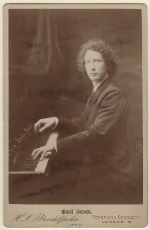 Emil von Sauer, by Hayman Seleg Mendelssohn - NPG x31028