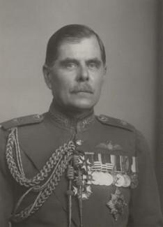 Hugh Montague Trenchard, 1st Viscount Trenchard, by Walter Stoneman - NPG x31071