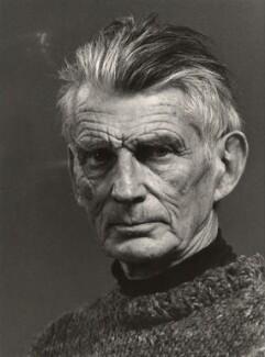 Samuel Beckett, by Hugo Jehle, circa 1981 - NPG x31097 - © Süddeutscher Rundfunk, Stuttgart