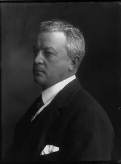 Sir Abe Bailey, 1st Bt, by Bassano Ltd, 30 June 1911 - NPG x31100 - © National Portrait Gallery, London