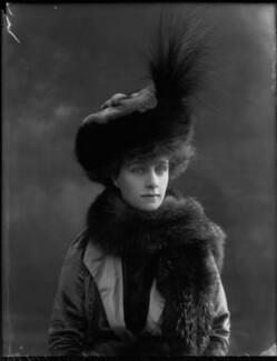 Beatrice (née Mills), Countess of Granard, by Bassano Ltd - NPG x31123