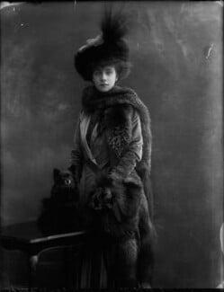 Beatrice (née Mills), Countess of Granard, by Bassano Ltd - NPG x31124