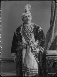 Prince Victor Albert Jay Duleep Singh as Akbar, by Alexander Bassano - NPG x31204