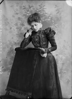 Martha (née Rylands), Lady Thorne, by Alexander Bassano - NPG x31301