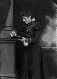 Martha (née Rylands), Lady Thorne, by Alexander Bassano - NPG x31302