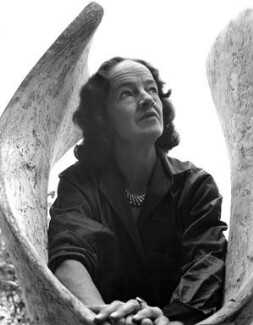 Barbara Hepworth, by Ida Kar, 1961 - NPG x88515 - © National Portrait Gallery, London