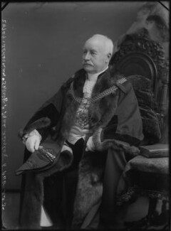 Frederick Prat Alliston, by Alexander Bassano - NPG x31466