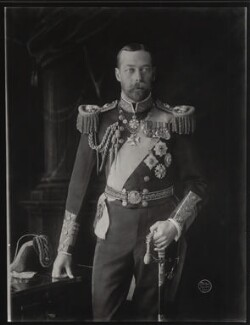 King George V, by Vandyk - NPG x31803