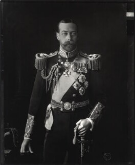 King George V, by Vandyk - NPG x31810