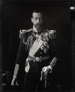 King George V, by Vandyk - NPG x31810