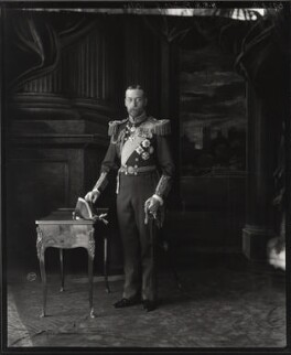 King George V, by Vandyk - NPG x31811