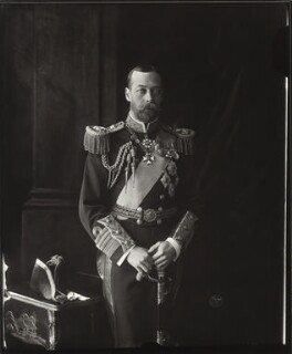 King George V, by Vandyk - NPG x31814
