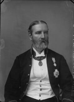 Sir Edward Maunde Thompson, by Alexander Bassano - NPG x31880