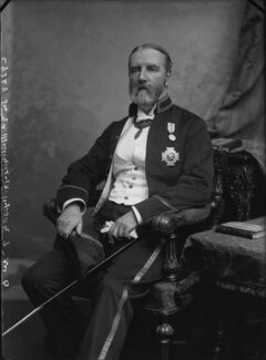 Sir Edward Maunde Thompson, by Alexander Bassano, 1899 - NPG x31883 - © National Portrait Gallery, London