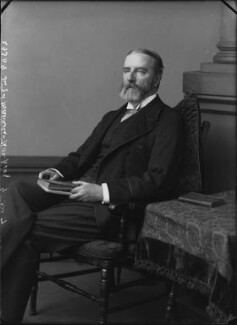 Sir Edward Maunde Thompson, by Alexander Bassano, 1899 - NPG x31884 - © National Portrait Gallery, London